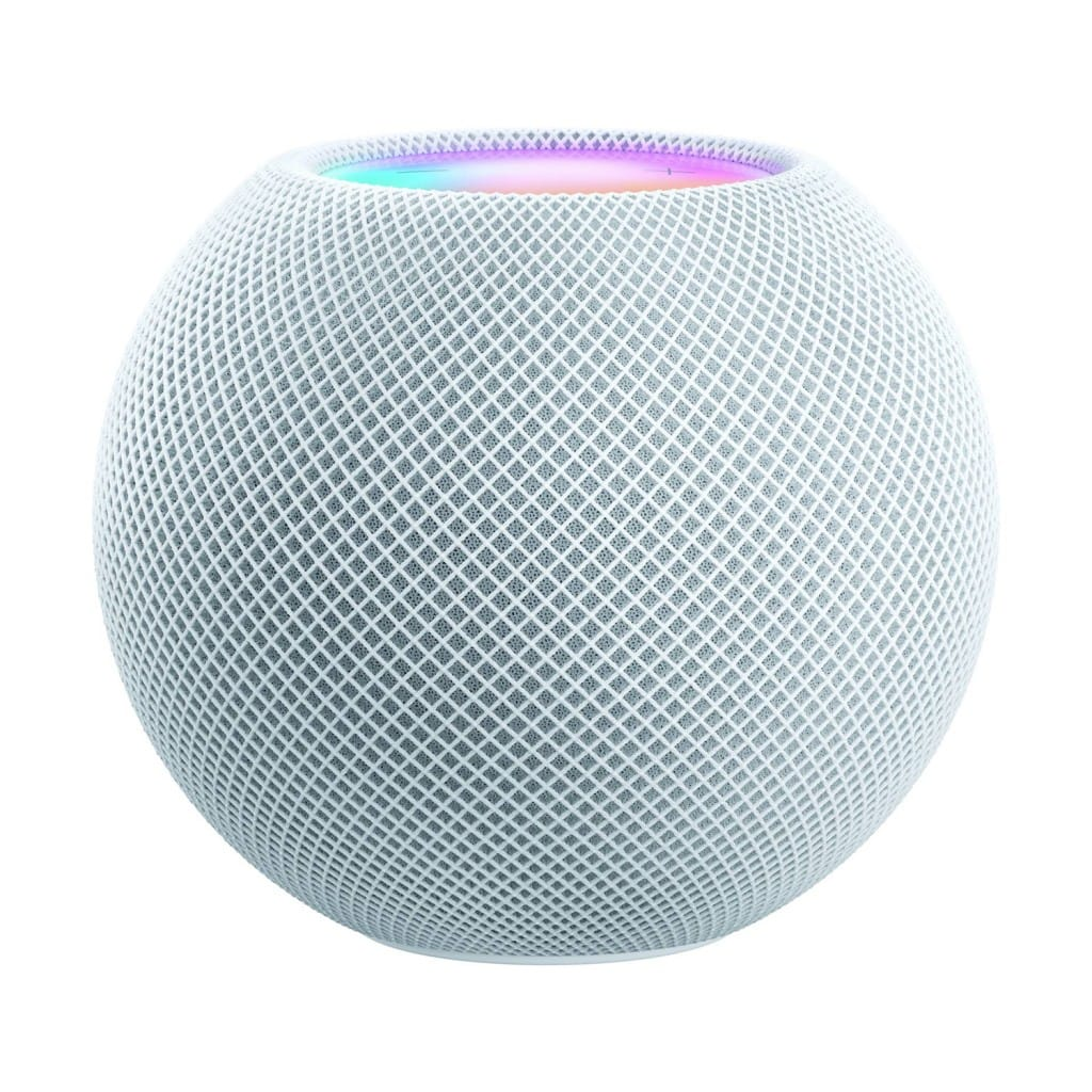 Apple HomePod Mini with Siri Assistant Smart Speaker (White)